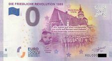 0 Euro Schein - Die Friedliche Revolution 1989 2019-1 XELC null €