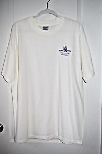 NWOT TRUMP TAJ MAHAL White w/Purple Letters T-Shirt Size XL We Give You More!