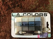 L.A. Colors 12 Color Eyeshadow Palette With Applicator Supernatural BEP424 BNIP