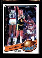 1979-80 TOPPS #66 JACK SIKMA SONICS NM/MT D024573