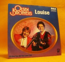 "7"" Single Vinyl 45 Olsen Brothers Louise 2TR 1983 (MINT) Pop Schlager"