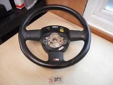 Audi A4 S4 B7 Leather steering wheel 8E041901DC manual