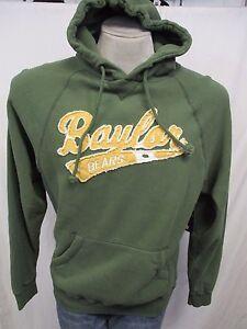 Baylor Bears Men's Medium Green Pullover Hooded Sweatshirt NCAA