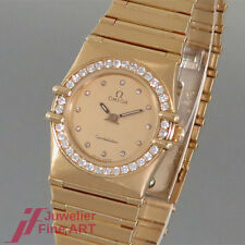 OMEGA 'Constellation'-Ref. 8951080.1-Quartz - 18K/750 Gelbgold-Diamanten-Damen