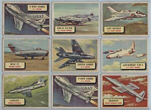 Trade Cards - Planes (A. & B.C. Gum) - 32 Cards