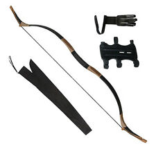 45# IRQ Archery Mongolian Recurve Bow Horse Longbow Hunting,Bag Arm,Finger Guard