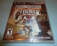 Front Mission Evolved  (Sony Playstation 3, 2010) new ps3