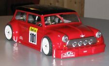 1/10 Mini Cooper Rally rc car body 200mm associated tamiya losi kyosho 0059