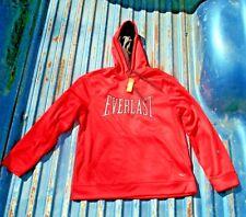 Nuevo Rojo Everlast Polar con Capucha Adulto XL Jersey Sudadera W/Bolsillo