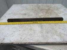 "Flat Pinion Gear Rack 57T 0.151 MOD 1.5"" Face 29.250"" 1/2"" Pitch Approx."