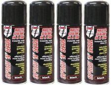 4 X Negro Instantáneo De Fugas Parada Masilla Spray Para Techos canalones tubos de Windows