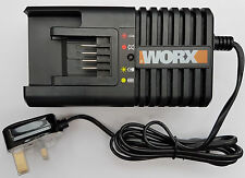 WORX WA3860 20 V LITIO Fast Charger 1 h Caricabatterie