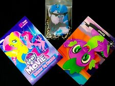 NEW! My Little Pony the Movie Collector Dog Tag #10 Storm King Spike card