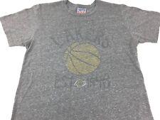 72a07218f Los Angeles Lakers shirt Lebron James NBA Basketball shirt LA Tee Junk Food  XL