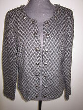Neue BON A PARTE Jacke Damen Größe 42 in schwarz/grau  NEU/OVP