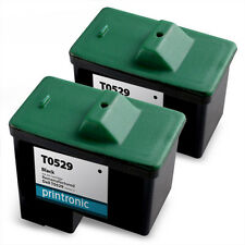 2PK Dell Series 1 Ink Cartridge Black 592-10039 10N0500 KF868 FF875 for A92