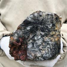 New Listing9.32Lb Natural Tourmaline Quartz Mineral Crystal Specimen Healing Ss32-Da
