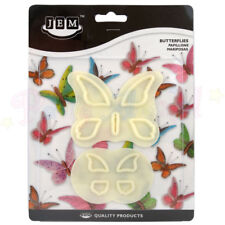 JEM - Butterfly / Butterflies Cutter set of 2 Sugarcraft Cutters Cake Equipment