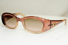 Authentic GUCCI Mens Womens Vintage Sunglasses Brown ROSE GG 2432 12V 29664
