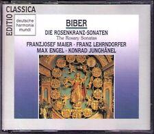 BIBER Die Rosenkranz-Sonaten Konrad JUNGHÄNEL Max ENGEL LEHRNDORFER MAIER 2CD