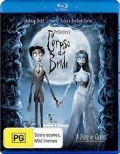 Tim Burton's Corpse Bride (Blu-ray, 2007)