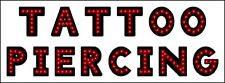 """New Generation TATTOO PIERCING Led neon sign 31½""""x11½"""""""