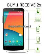 2X Pack Hardened tempered Glass Screen shield Protector for LG Google Nexus 5