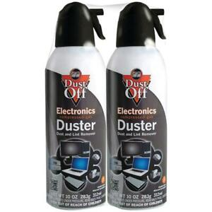 DUST OFF 10 oz. Disposable Compressed Gas Duster (2-pack)