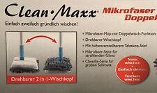 Clean Maxx Mikrofaser Doppelmop