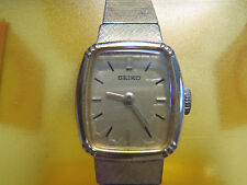 Seiko Dress/Formal Rectangle Wristwatches