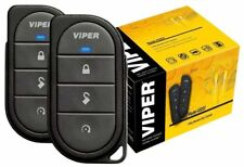 Viper 4105V Remote Car Starter 1-Way TWO 4-Button Remotes Keyless NEW 4105