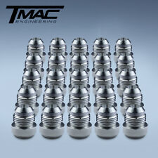 Aluminium Alloy Weld On Fittings Dash -8 AN / JIC - Trade (25 pack)
