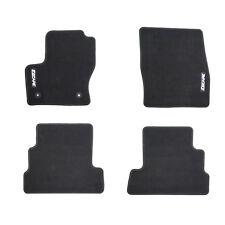 NEW OEM 2015-2018 Ford Escape Carpeted Floor Mat Set Charcoal Black w Logo