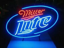 "New Style Mille Lite Neon Light Sign 17""x14"" Lamp Beer Bar Pub Glass Display"