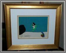 Framed, Chuck Jones SIGNED, Michigan J Frog PRODUCTION Animation Cel w/COA
