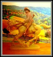 TSSD w A Shotgun Confederate Rebel ACW Cavalry Horse w/Conte Marx Customzd 54mm