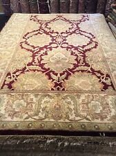 """Indo Persian Rug 6'0"""" x 9'0"""" Excelent detail. Soft thick pile. Hand knotted."""