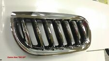 CHROMED FRONT & BLACK REAR GRILLE BMW X3/E83 X SERIES 2004-2006