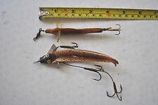2 VINTAGE FISHING LURES