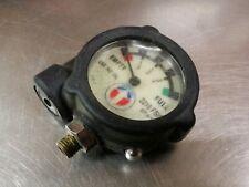 Survivair Scba Resipirator Part 970410 Analog Gauge Withvisual Alarm 2216 Psig
