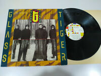 """Glass Tiger The Thin Red Line 1986 Spain Edition - Vinyl 12 """" LP Heavy Rock Emi"""