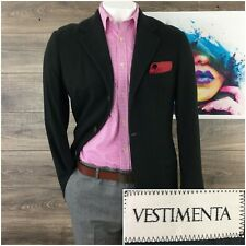 Vestimenta 40R Cashmere Silk Mens Sport Coat Blazer Jacket
