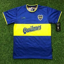 Boca Juniors, Men's Retro Soccer Jersey Intercontinental 2000 Riquelme  Replica