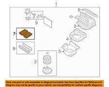 MAZDA OEM 04-11 RX-8-Cabin Air Filter LDY461J6X