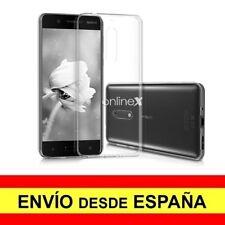 Funda Silicona para NOKIA 5  Carcasa Transparente ¡España! a2885