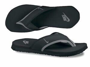 Nike Celso 307812 018 Flip Flop Black/Gray Men's 10