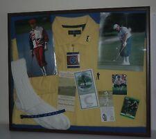 Payne Stewart 1999 US Open 1998 US Open WWJD Autograph Framed Tribute His Socks