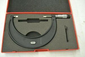 "Starrett 4-5"" Blade Micrometer No. 486, .001"""