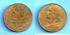 France 20 Centimes 1995 Lagriffoul Free Shipping Wrld Francs Frcs Frc Cent Cents
