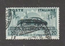 Italy stamp #570, used, Topical, Cars